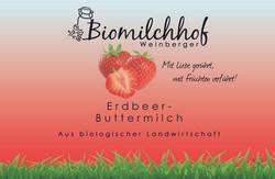 Erdbeer Buttermilch