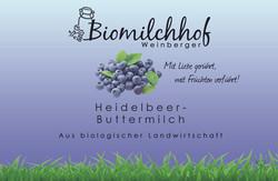 Heidelbeer Buttermilch