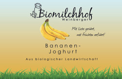 Bananen Joghurt