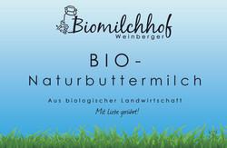 Natur Buttermilch