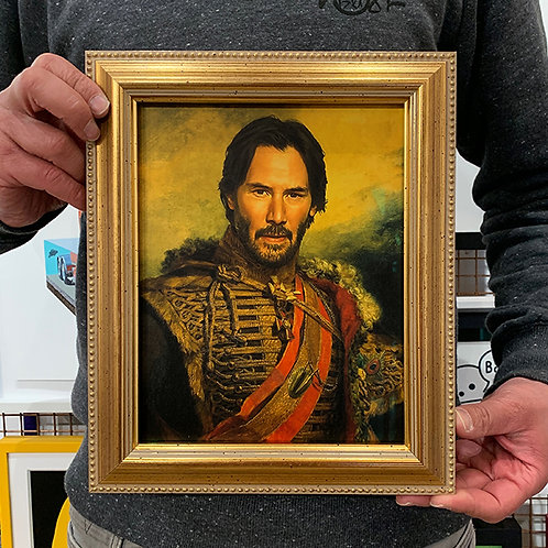 REPLACE FACE 'KEANU REEVES' with REPURPOSED FRAME