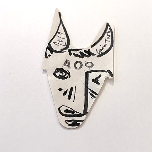Picasso Bull Head Signed Exclusive to the Art Boot Sale 2019