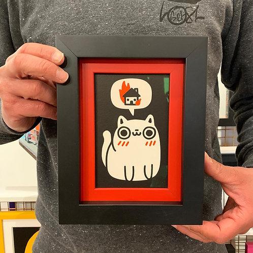 JOEL ROBINSON 'DREAMING OF DESTRUCTION' with Custom Double CHUNK Frame