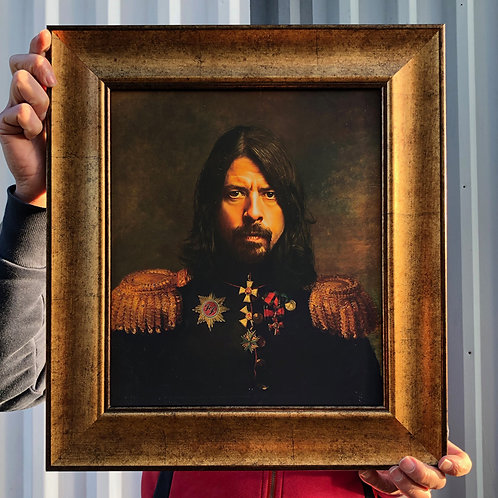 DAVE GROHL with FRAME