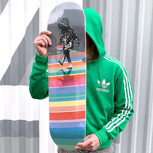 Eelus 'After the Rain' Skateboard Deck