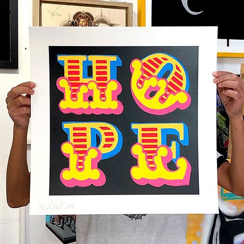 BEN EINE 'HOPE' Limited Edition Print