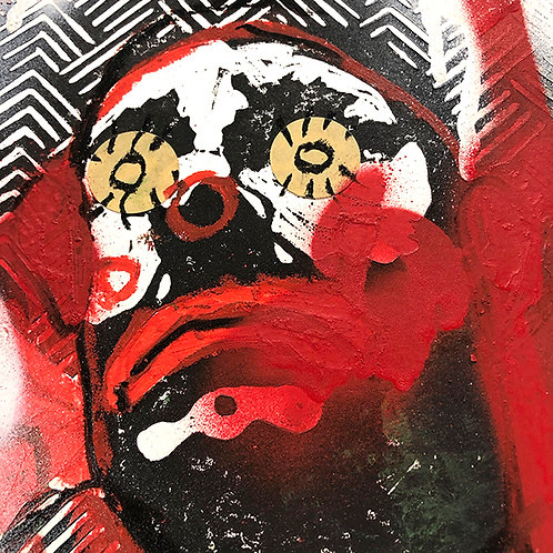 LEE ELLIS 'PRETTY UGLY (26)' ORIGINAL ARTWORK