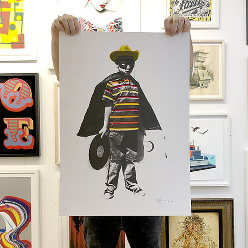 PAUL INSECT 'KID' Limited Edition Print