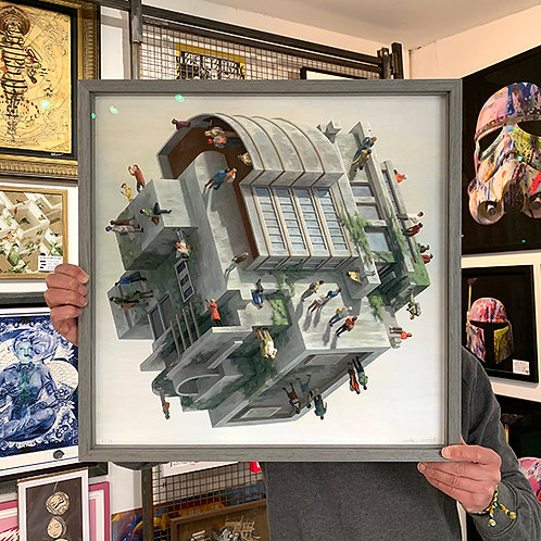CINTA VIDAL 'WETZLER' Ltd Edition Print with FRAME