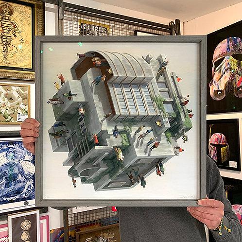 CINTA VIDAL 'WETZLER' Ltd Edition Print with FRAME