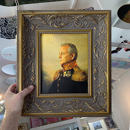 BILL MURRAY REPLACE FACE with ORNATE FRAME