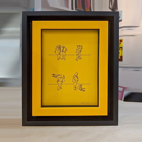 MR BINGO 'THROW' with Frame Ltd Ed.