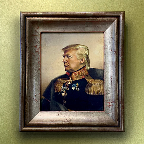 REPLACE FACE 'TRUMP' with ORNATE FRAME