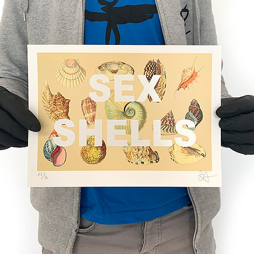 BENCH ALLEN '(SHE SELLS) SEX SHELLS' Limited Edition Print