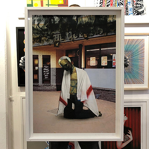 ADAM NEATE 'THE QUEEN'S SPECIAL' Ltd Edition PRINT with FRAME