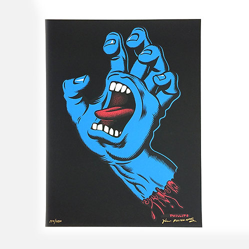 JIM PHILLIPS 'SCREAMING HAND'