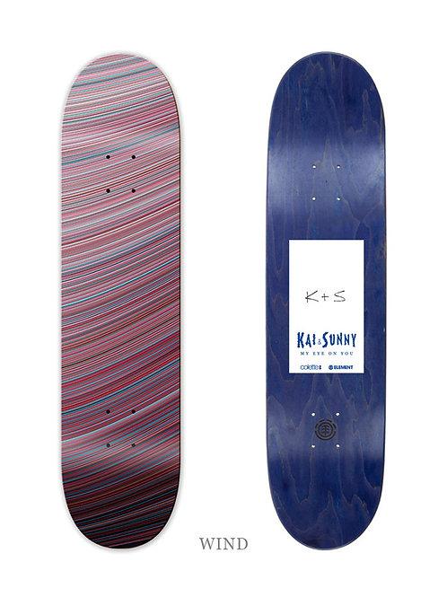 KAI & SUNNY 'WIND' ELEMENTS SKATEBOARD