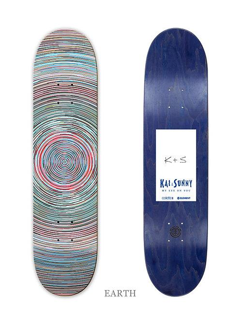 KAI & SUNNY 'EARTH' ELEMENTS SKATEBOARD
