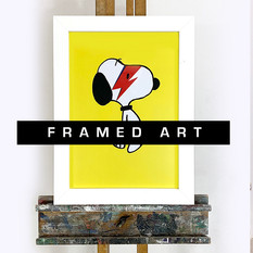 framed art snoopy.jpg