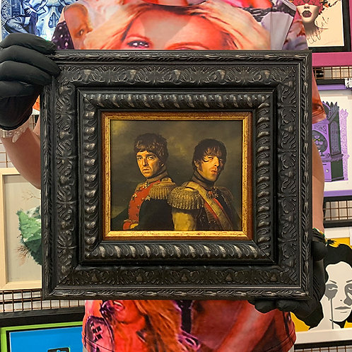 REPLACE FACE 'GALLAGHER BROTHERS' with ORNATE FRAME