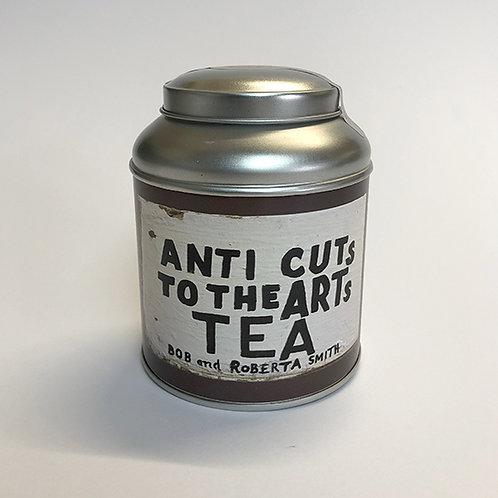 BOB & ROBERTA SMITH 'ANTI CUTS TO THE ARTS TEA'