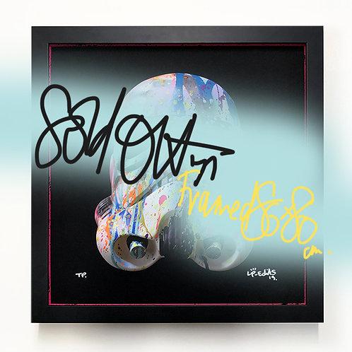 LP-EDITS 'STORMTROOPER' Ltd Edition FRAME and Ltd Edition ART PRINT 80cm x 80cm