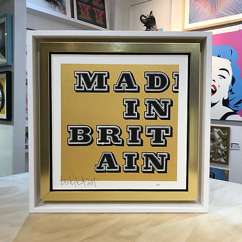 BEN EINE 'MAD IN BRITAIN' LTD ED. PRINT with FRAME