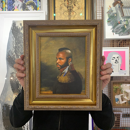 REPLACE FACE 'MR T' with ORNATE FRAME