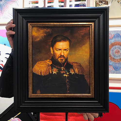 RICKY GERVAIS with FRAME