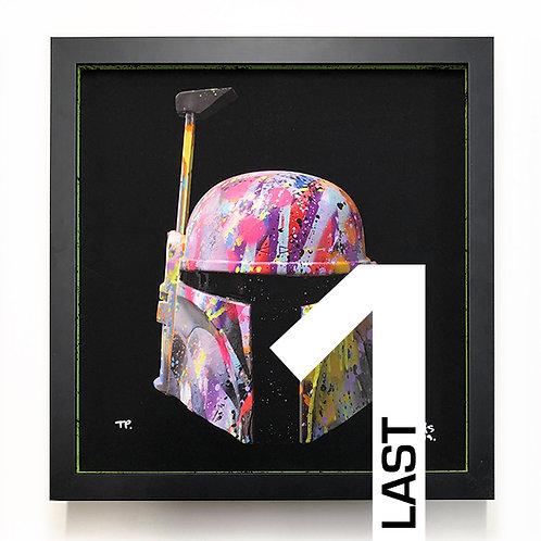 LP-EDITS 'BOBA FETT' Ltd Edition FRAME and Ltd Edition ART PRINT (1)