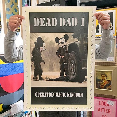 JIMMY CAUTY 'Dead Dad 1' PRINT
