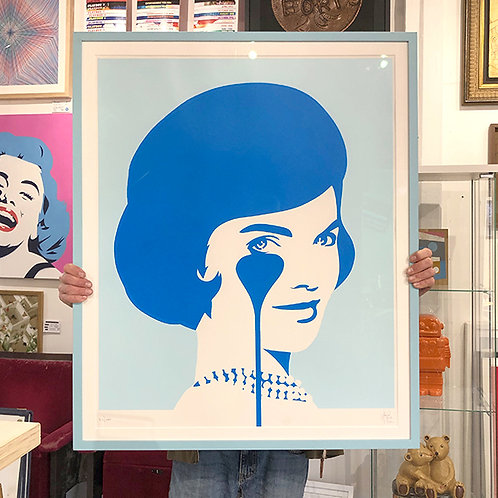 PURE EVIL 'SMILING JACKIE' Ltd Ed with Pantone Matched Frame