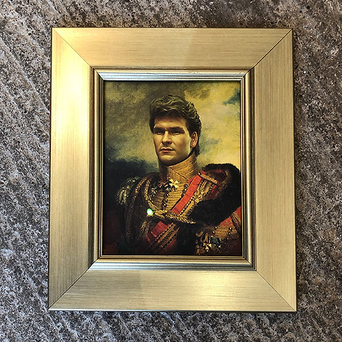 PATRICK SWAYZE with FRAME