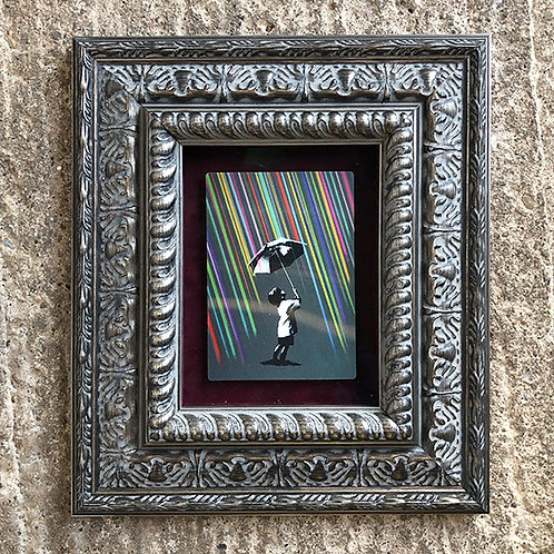 EELUS 'NOT EVERYTHING IS SO BLACK & WHITE' LENTICULAR with FRAME