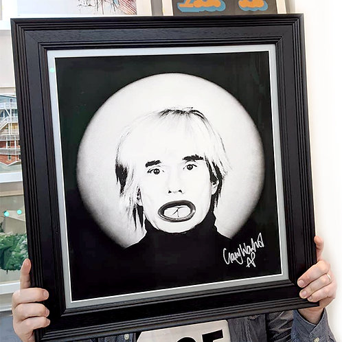 GARY WARHOL 'DOLLFACE' with FRAME Artist Proof