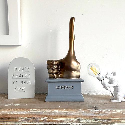 DAVID SHRIGLEY 'FOURTH PLINTH' in unopened box