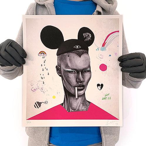 RUGMAN 'GRACE JONES' Limited Edition Print