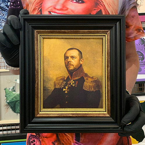 REPLACE FACE 'SIMON PEGG' with ORNATE FRAME