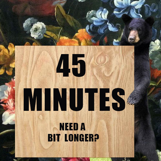NEED A BIT LONGER?