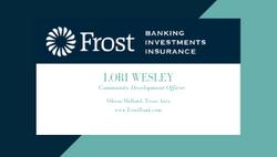 Lori Wesley - Frost Bank