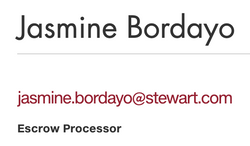 Jasmine Bordavo