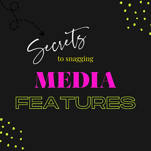 Snagging MEDIA features