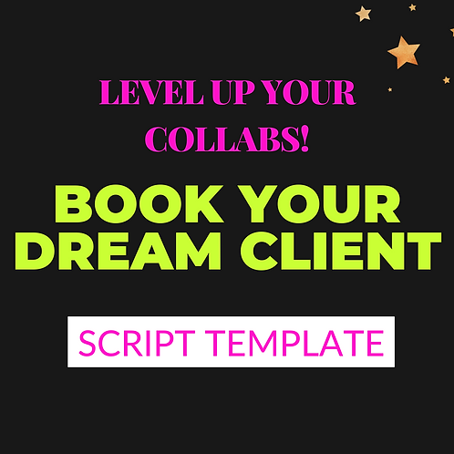Book Your Dream Client