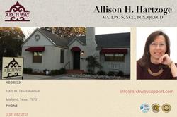 Allison Hartzoge - Jan2019
