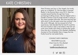 Kate Christian
