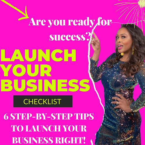 Launch Your Business Checklist