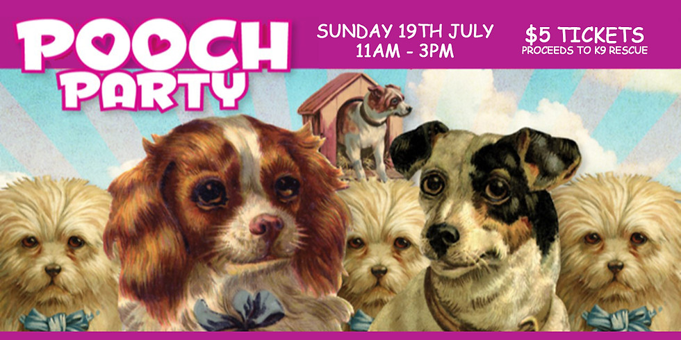 SOLD OUT Pooch Party - Brews, Brunch & Barks