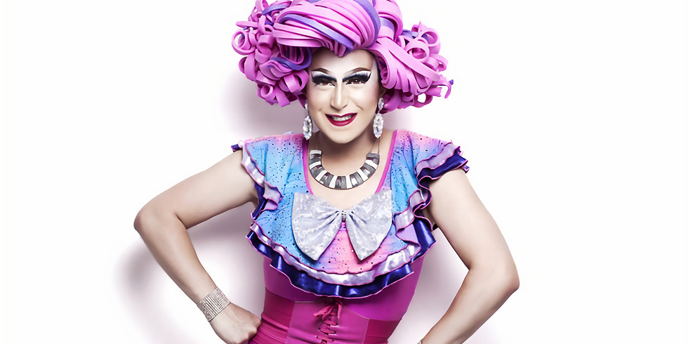 Live with Pride in Peel Drag Queen Fay Rocious