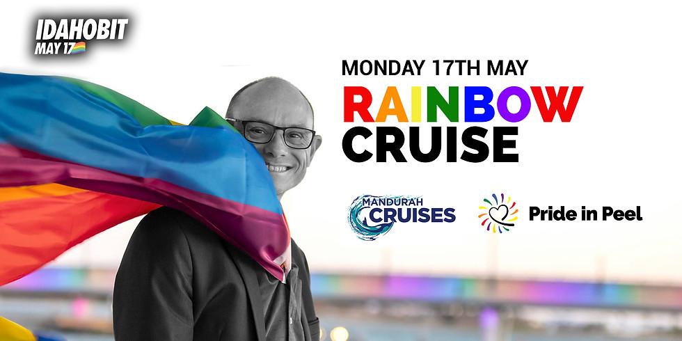 Rainbow Cruise - Mandurah Bridge Turns Rainbow for Idahobit Day