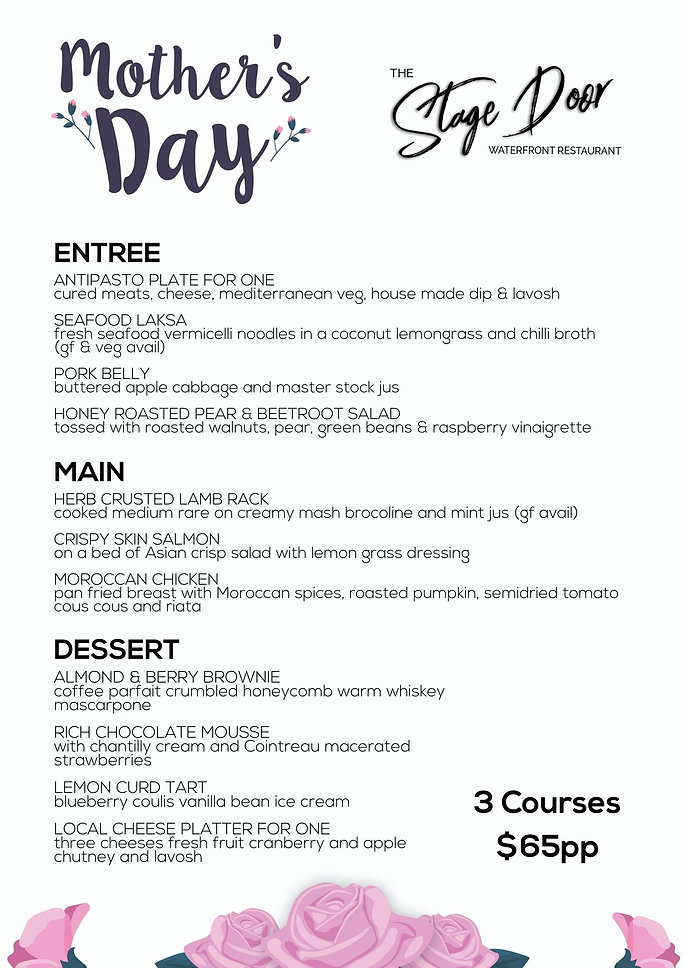 Mother's Day Menu 2021 - Stage Door (2).